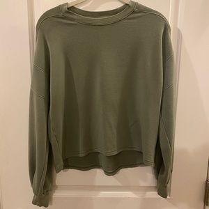 American Eagle sage green sweatshirt xs